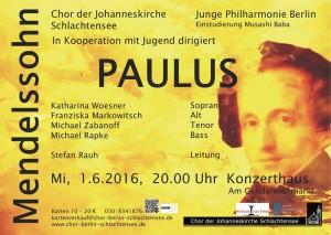 Konzert am 01.06.2016 im Konzerthaus am Gendarmenmarkt zum Weltkindertag.